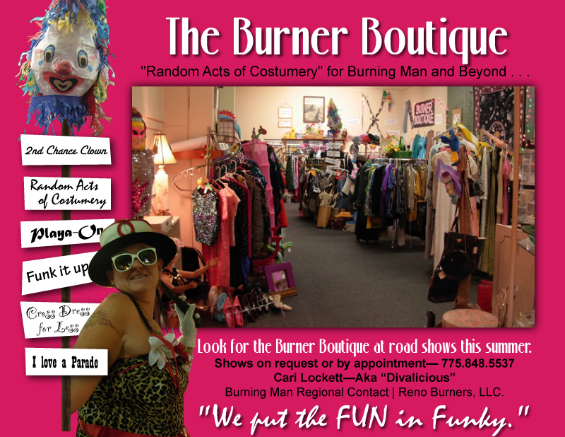 Burner Boutique, Reno NV